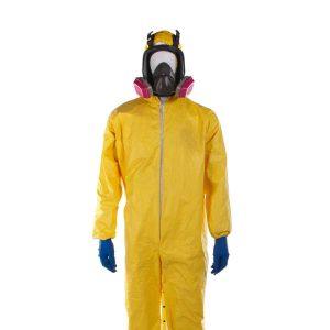 Breaking Bad (2008-2013) - Walter White Hazmat Suit Mask & Gloves