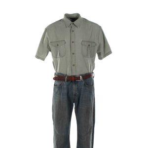 Captain Phillips (2013) - Captain Richard Phillips Tom Hanks Shirt Pants & Belt