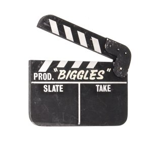 Lot #24 – Biggles (1986) Production Used Clapperboard