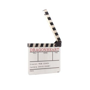 Lot #76 – Dragonheart (1996) Production Used Clapperboard