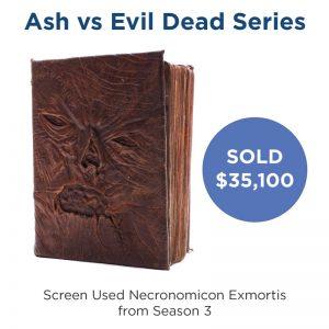 Ash vs Evil Dead - Screen Used Necronomicon Exmortis