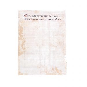 Lot #27 – Vikings Production Used Lindisfarne Monastery Graphic Text Page Set 1 Ep 102