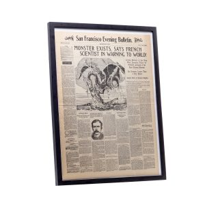 Lot #2 – 20000 Leagues Under The Sea (1954) Production Made Framed Newspaper
