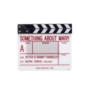 Lot #175 – There's Something About Mary (1998) Production Used Clapperboard