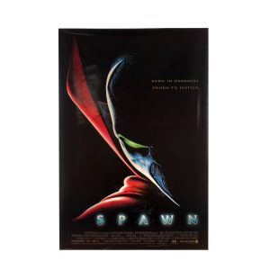 Lot #147 – Spawn (1997) Autographed Poster